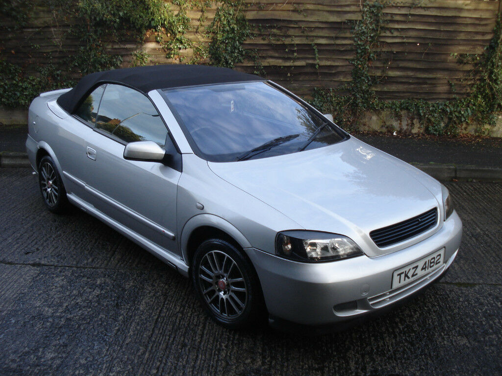 2002 vauxhall astra convertable