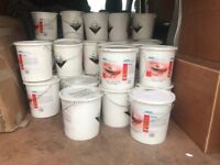 joblot/wholesale\carboot lot approx 70 10kg tubs of winterhalter dishwasher and glass detergent