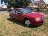 1996 Rover 620 Sli Auto Red New MOT 61k Honda Engine