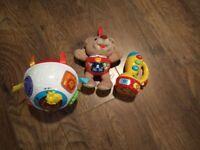 Bundle of v-tech etc baby toys