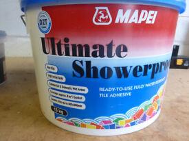 MAPEI Ultimate Showerproof Tile Adhesive 15KG (New)