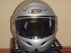 Nolan X-lite performance flip up motorcycle helmet size 56