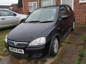 Vauxhall Corsa 2004 - non runner - for spairs or repair
