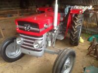 massey 135 tractor