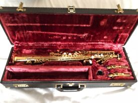 Yamaha Soprano Saxophone YSS 875 Excellent Condition