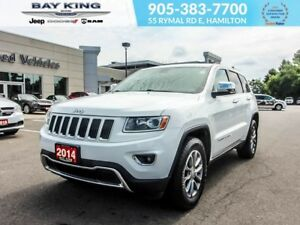 2014 Jeep Grand Cherokee LIMITED 4X4, SUNROOF, BACKUP CAM, REMOT