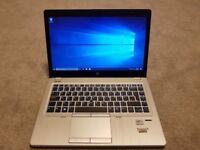 HP EliteBook Folio 9470M Ultrabook laptop 256gb SSD 8gb ram Intel Core i5 -3rd generation