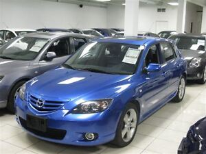 2005 Mazda MAZDA3 SPORT AUTO!! FULLY LOADED!! HATCH!! SUNROOF!!