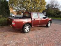 A clean cheap and very rare double cab pick up on the 2.5 diesel version with 2 wheel drive No VAT