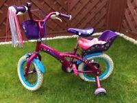 Girls bike 4-6 years, used