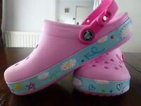 Pair of Pink 'Hello Kitty' Crocs