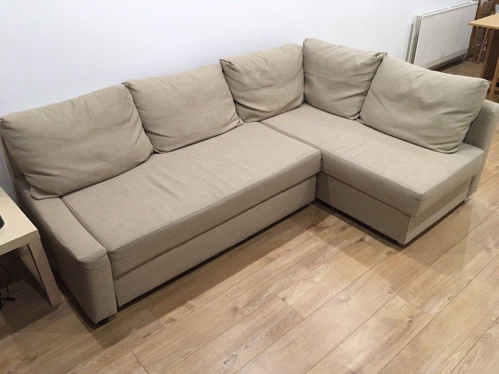 Ikea corner sofa/sofa bed with storage