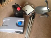 Sky box/25L water carrier/ 23L wastage tank