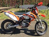 KTM EXCF 250 ENDURO MOTOR BIKE
