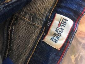 Tommy Hilfiger denim shorts girls age 12 brand new