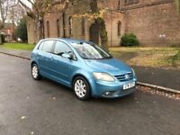 VOLKSWAGEN GOLF PLUS GT 2.0 TDI 5DR...HATCHBACK, 2006 MANUAL DIESEL