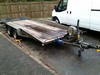 Transporter tilt trailer