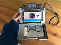 Extremely rare Polaroid Camera from 1969! (Includes attachable flash)