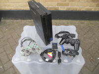 Sony PS2 Playstation2 Playstation 2 with controllers memory card and all leads