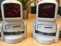 2 X SYMBOL LS-9100 1D 2D BARCODE SCANNER