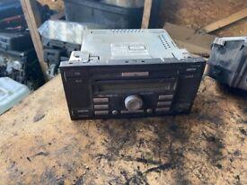 FORD TRANSIT MK7 RADIO CD PLAYER STEREO HEAD UNIT 8C1T-18C815-AD