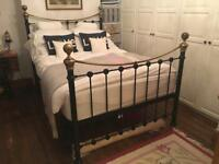 Victorian Style Cast Iron Double Bed