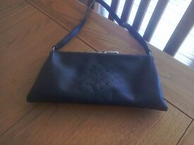 Jane Shilton black evening bag