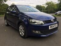 2014 Volkswagen polo match 1.2 petrol bargain may partex (not golf, fiesta, corsa, Yaris, a1)
