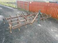 Tractor three point linkage triple k cultivator ideal for horse arena etc