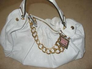 Authentic Leather Juicy Couture Handbag