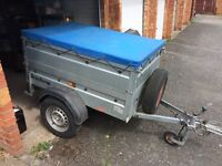 Brenderup 1150S car trailer