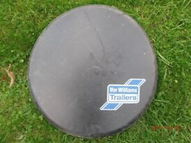 Ifor Williams spare tyre cover.