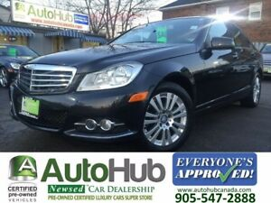 2012 Mercedes-Benz C-Class NAVIGATION-4 MATIC-LEATHER-SUNROOF