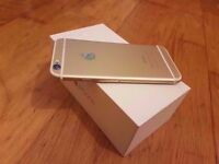 iPHONE 6 GOLD 16 GB UNLOCKED FULLY BOXED GOOD CONDITION ONLY £250