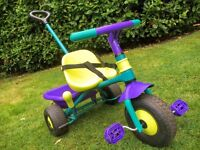 Kids Toddler Trike with Handle - great condition