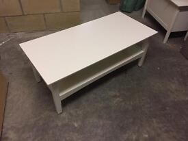 White M&S coffee table