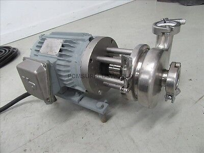 Stainless Steel Centrifugal Pump 145t Used And Tested