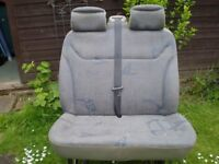 Renault Trafic 05 Double Passenger Seat