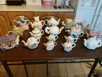 character collectable tea pots