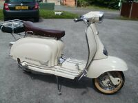 Lambretta scooter 1961 Li 125 series
