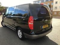 8 SEATER LOW MILAGE HYUNDAI I800 2.5 CRD DIESEL MANUAL 2008-REG,GREAT FAMILY CAR LOADS OF SPACE