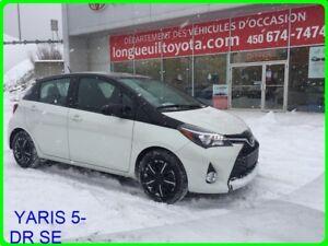 2016 Toyota YARIS 5-DR SE PNEU D'HIVER NEUF