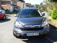 FULL HISTORY 2 OWNERS HONDA CRV ES +6 SPEED DIESEL 2008 NEWER SHAPE AT OLD SHAPE MONEY