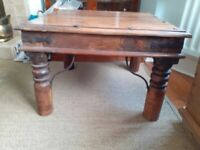 Lovely wooden coffee table in excellent condition