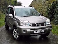 PERFECT 4X4! (2005) NISSAN X TRAIL SPORT DCI - DIESEL -6 SPEED MANUAL - LONG MOT-PANORAMIC SUN ROOF