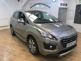 PEUGEOT 3008 1.6 HDI ACTIVE 5d 115 BHP MANUFACTOR WARRANTY (grey) 2015