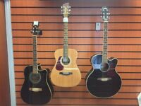 Vintage, Brunswick and Ibanez Guitars