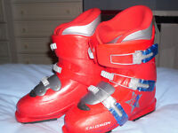 Child's Salomon Ski Boots