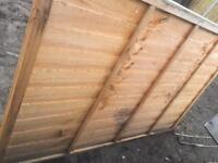 4ft by 6ft fence Panels £10 each