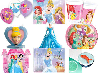 Disney Princess Cinderella Mermaid Arielle Party Geburtstag Deko Ballon Gedeck  ()